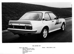 Opel Ascona 400 Road Car Press Photograph rear view (buzzer999) Tags: opel