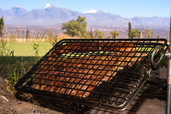 asado al pie de los Andes (ghuertasw1) Tags: asado takumar d800 nikon andes cordillera montañas comida argentina sanjuan calingasta barreal