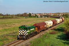 2019.04.15   A25 007   Hajmáskér (Davee91) Tags: bobo hajmáskér füzfőgyártelep a25007 ganz güterzug trenuri tehervonat vasút vonat iparvasút vonatok mozdony vlak vlaky