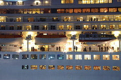Sailing (runslikethewind83) Tags: boat side ship night japan yokohama view travel 船 夜 pentax