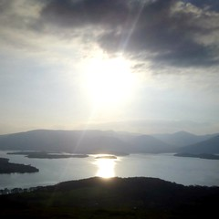 Loch Lomond, Sunshine (RobinMacinnesMartin) Tags: lochlomond scotland scottish scottishloch scottishscenery clouds sunlight sun sunshine