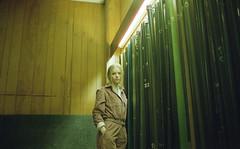 Charlotte Parker (fraser_west) Tags: portrait muse film analog 35mm kodak kodakportra 800 snookerclub socialclub uk cinematic woodpanel wetheconspirators 2019