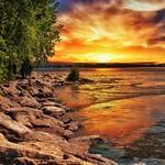 St Catherines Ontario ~ Canada ~ Port Dalhousie Pier Marina ~ Landmark  - Sunrise thumbnail