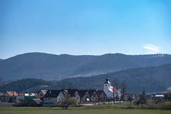 just a normal fantastic scene in Slovakia (Paul Wrights Reserved) Tags: slovensko slovakia church kostol mountain hill hills sky fog mist misty churches landscape landscapes landscapephotography