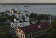 Nizhny Novgorod (Lyutik966) Tags: nizhnynovgorod russia city cityscape volga oka river water architecture building church dome roof street bridge