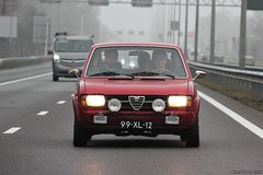 Alfa Romeo Alfasud Super 1300 1978 (99-XL-12) (MilanWH) Tags: alfa romeo alfasud super 1300 1978 13 99xl12 red rouge rood