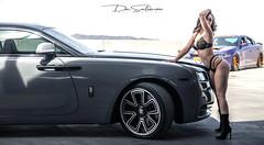 Rolls Royce I (Skyrocket Photography) Tags: dan santamaria team revered skyrocket photography chandler arizona sexy photoshoot rolls royce wraith phantom nissan gtr r35 dodge charger hellcat invader hayabusa 1300 sport bike kawasaki h2 supercharged twin turbo audi s6 v8