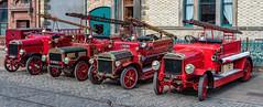 Great North Steam Fair, Beamish (@toonaew) Tags: beamish steam fair bus tram engine charabang county durham fire ladder