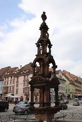 Rottweil, älteste Stadt in Baden-Württemberg (Travertin) Tags: rottweil brunnen