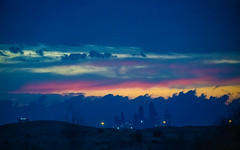 Color Splash in the Sky (|MBS-..|) Tags: nikon d850 sky sunset colors road dubai moody 180400mm f4 rainbow architecture