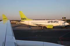 YL-CSK 06042019 (Tristar1011) Tags: airbaltic airbus a220300 bcs3 ylcsk bombardier cseries cs300 evra rix riga ylbbd boeing 737500 b735 dash8 q400