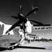 Gotta Check Out the HC-27J Prop in B&W