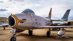 F-86 Sabre Jet (Jeffrey Balfus (thx for 4 Million views)) Tags: pimaair tucson az us sonya7iii ilce7m3 fe24240mmf3563oss sel24240 militaryjets militaryaircraft sabrejet