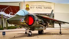 Harrer II. GR5 British Aeroforce (Jeffrey Balfus (thx for 5.5M views)) Tags: pimaair tucson az us sonya7iii ilce7m3 fe24240mmf3563oss sel24240 militaryjets militaryaircraft britishjet harrerii