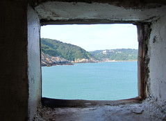 Nangan island: view from stronghold