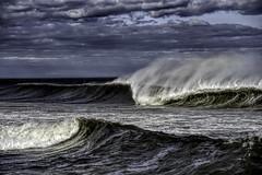 what the sea wants the sea gets (imbrojerry) Tags: ocean waves spray nj beach nikon d750 surf water art usa