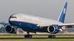 United Airlines N796UA plb20-5576 (andreas_muhl) Tags: 777 ams n796ua ua unitedairlines