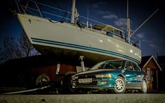 My best pal. Mitsu Galant 4G63 EVO engine (Carl Terlak) Tags: galant mitsubishi apsc sony nex5 nightshot zeiss seashore f