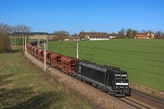 Schwarz (maurizio messa) Tags: mrce traxx bombardier br185 mau bahn ferrovia freighttrain fret cargo guterzuge treni trains railway railroad österreich oberösterreich nikond7100 eccorail