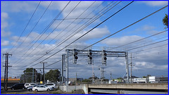Lines 1 (calook) Tags: train powerlines poles pylons electricity