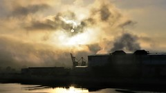 Entre niebla (eitb.eus) Tags: eitbcom 30487 g1 tiemponaturaleza tiempon2019 paisajes bizkaia portugalete juantxuaberasturi