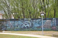 Braga - street art (jaime.silva) Tags: braga portugal portugalia portugalsko portugália portugalija portugali portugale portugalsk portogallo portugalska portúgal portugāle painting paint spraypaint spray spraypainting muralpainting mural pinturamural streetart streetartist graffiti graf urban urbanart arteurbana violant