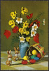 Påskekort ca. 1960 (National Library of Norway) Tags: nasjonalbiblioteket nationallibraryofnorway påskekort påske eastercards easter postkort postcards påskeegg påskeharer påskeblomster påskeliljer tulipaner pinseliljer blomster flowers