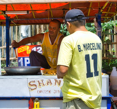B. Marcelino (Beegee49) Tags: street food people chicken joy happy planet luminar sony a6000 bacolod city philippines