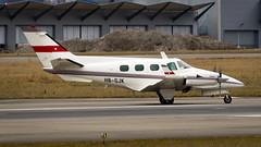 Beechcraft B60 Duke HB-GJK Private (William Musculus) Tags: plane spotting aviation airplane airport william musculus basel mulhouse freiburg euroairport bsl mlh eap lfsb beechcraft b60 duke hbgjk private beech