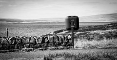 Cow Green . (wayman2011) Tags: colinhart fujifilmxt1 lightroom5 wayman2011 bwlandscapes mono rural reservoirs water pennines dales teesdale cowgreen countydurham uk