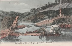 Barron River, Cairns, Qld - very early 1900s (Aussie~mobs) Tags: cairns vintage queensland australia barronriver aborigines indigenous natives northqueensland