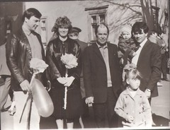 1 Мая 1988г. Бобруйск. Фото из личного архива Захаровой И.И., ЦДБ им.А.П.Гайдара