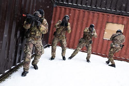 NATO Battlegroup Latvia conducts urban operations training