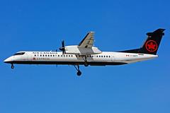 C-GGFP (Air Canada Express - JAZZ) (Steelhead 2010) Tags: aircanada aircanadaexpress jazz bombardier dhc8 dhc8q400 yyz creg