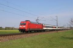 DB 101 025-5 Eurocity, Graben (TaurusES64U4) Tags: db br101 eurocity