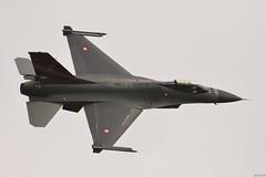 Royal Danish Air Force, General Dynamics F-16AM Fighting Falcon (j.ersil) Tags: aircraft mil military fighter jet royal danish air force airshow nat nato days generaldynamics f16 fightingfalcon
