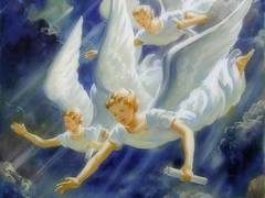 3angels_03 (Daniel0556) Tags: 3angels angels clouds heaven ppdc prophecy revelation scrolls sky style01 threeangels