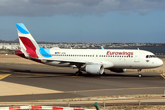 2019-02-02 ACE D-AEWL A-320SH EUROWINGS (mr.il76) Tags: ace airports flughafen flugzeuge max8 neos lanzarote luftfahrt boeing airbus atr72