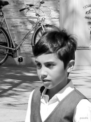 well dressed (mknt367 (Panda)) Tags: portrait kid teen boy handsome blackandwhite