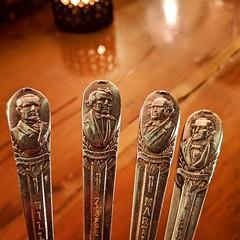 presidential spoons (ekelly80) Tags: dc washingtondc spring march2019 rosesluxury barracksrow presidents spoons presidentialspoons dessert