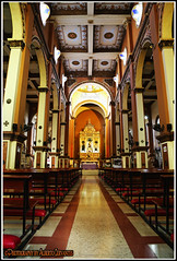 IGLESIA SAN JOSE. SAN JOSE-CHURCH. GUAYAQUIL-ECUADOR. (ALBERTO CERVANTES PHOTOGRAPHY) Tags: iglesiasanjose sanjosechurch iglesia church sanjose san saint jose republicadelecuador guayaquilecuador guayas guayaquil ecuador gye ecuadorgye gyeecuador photography colorlight photoborder fe faith hope holy belief hall interior inside indoor outdoor blur retrato portrait luz light color colores colors brillo arquitectura bright brightcolors architecture reflejo reflection malecon2000 malecon cruz cross creative photoart art believe