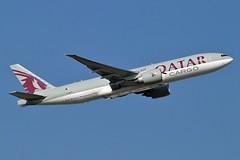 Qatar Airways Cargo A7-BFD Boeing 777-FDZ cn/41427-1004 @ EDDF / FRA 08-10-2018 (Nabil Molinari Photography) Tags: qatar airways cargo a7bfd boeing 777fdz cn414271004 eddf fra 08102018