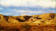 Mariscal Mine. Painterly landscape.