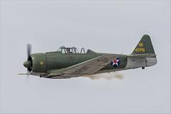 North American SNJ-6 Texan - 02 (NickJ 1972) Tags: mcas yuma airshow 2019 aviation toratoratora tora northamerican t6 snj5 texan harvard n9820c 47ps 18