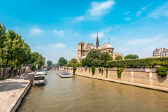 Notre Damme Cathedral (andrebatz) Tags: notredame notre dame france paris sunny summer cathedral travel outdoor landscape urban architecture sightseeing famous beautiful tragedy sigma lens nikon d7100 wide angle