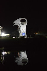 Falkirk Wheel (CoasterMadMatt) Tags: falkirkwheel2018 falkirkwheel falkirk wheel boatlift boat lift canal canals monument landmark scottishlandmarks landmarks sterlingshire centrallowlands central lowlands scotland britain greatbritain unitedkingdom gb uk europe illumination illuminated atnight inthedark floodlit light lights litup reflection reflections structure december2018 autumn2018 december autumn 2018 coastermadmattphotography coastermadmatt photos photographs photography nikond3200