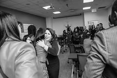 2019_SPEV_NYC Legacy Mentors Trip_AllRichImages 5 (TAPSOrg) Tags: taps tragedyassistanceprogramforsurvivors specialevent legacymentor newyorkcity newyork nyc experience 2019 military macys sponsor allrichimages indoor horizontal blackandwhite women candid staff hug
