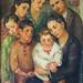 Familia, óleo sobre tela
