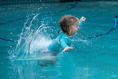 Blink (armct) Tags: swimming pool dive jump splash blink fun child smile laughter symmetry akimbo play wet aqua water impact action motion movement summer recreation leisure swim rashie