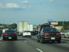Atlanta Traffic (gold94corolla2) Tags: traffic atlanta road